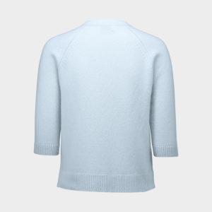 Allude Pullover hellblau hinten