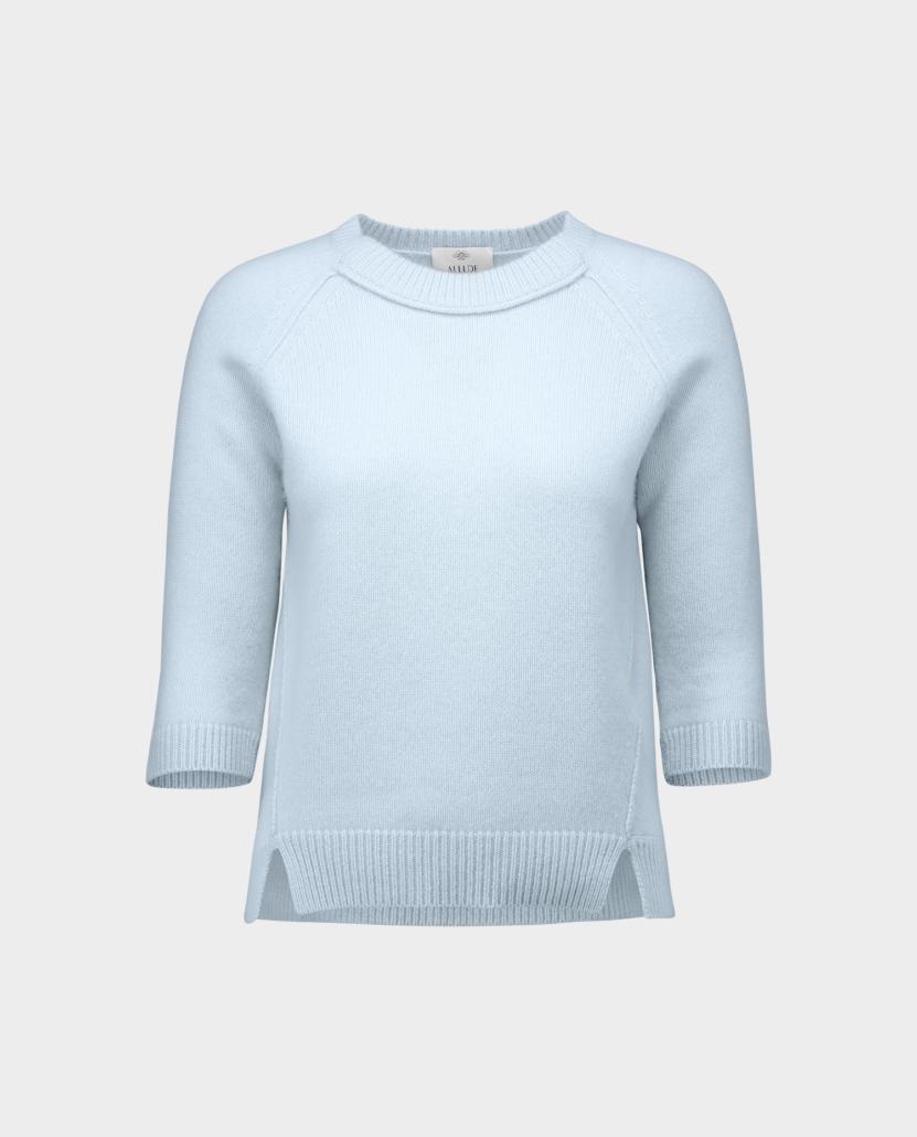 Allude Pullover hellblau