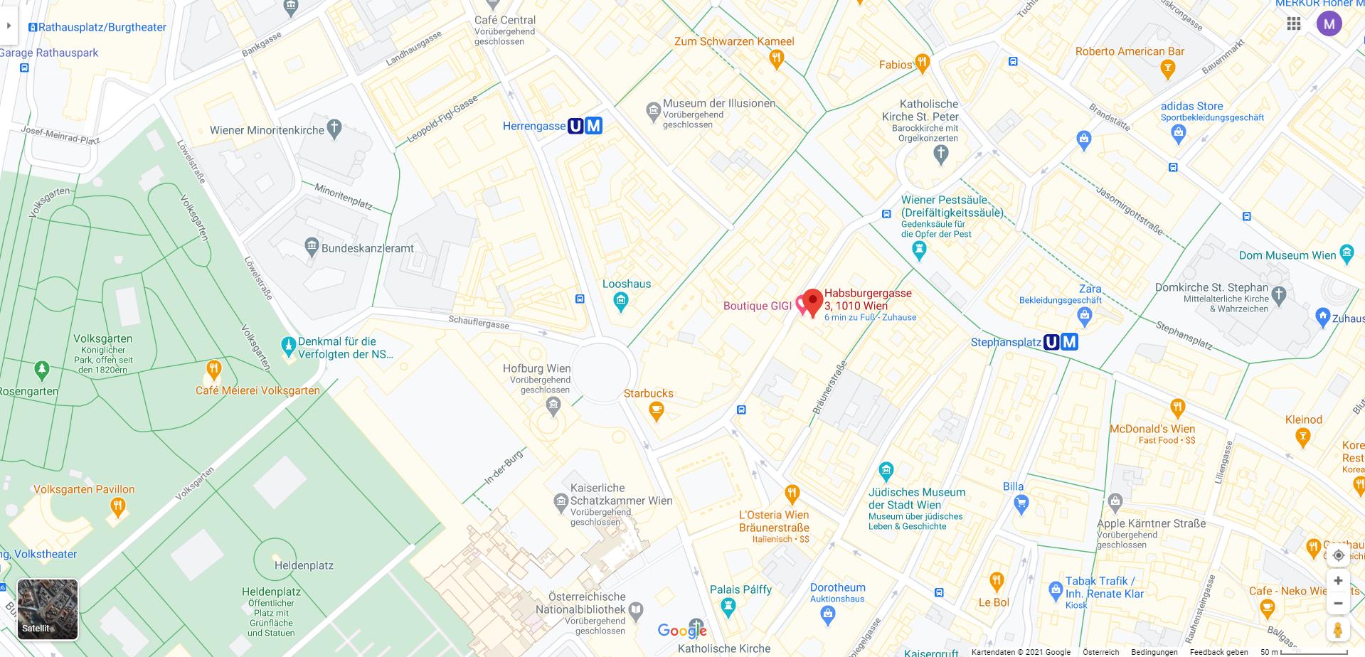 Google Maps GIGI