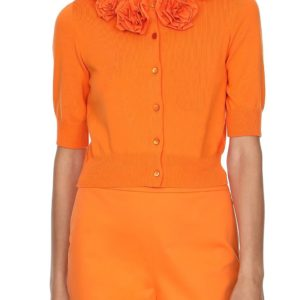 Boutique Moschino Weste klein orange