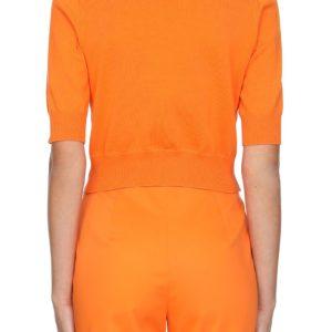 Boutique Moschino Weste klein orange hinten