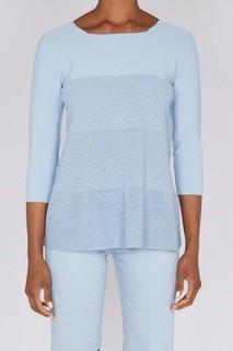 D.Exterior Pullover blau