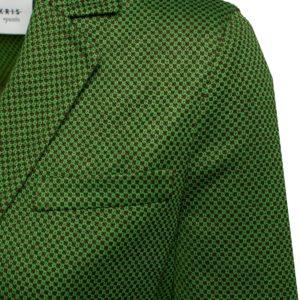 Akris Punto Jacke grün Detail