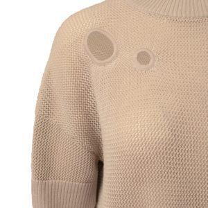 Akris Punto Pullover beige Detail