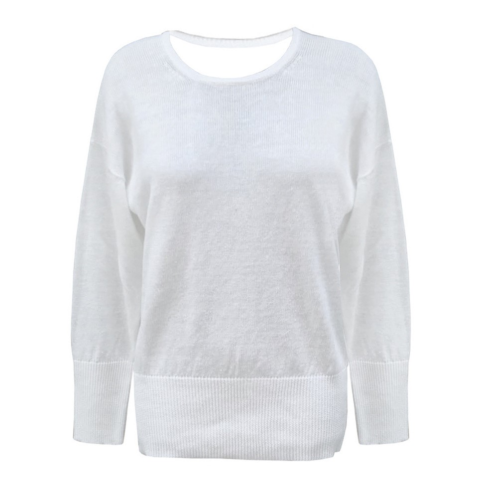 Peserico Pullover weiß