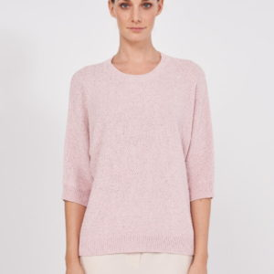 Peserico Pullover rosa vorne