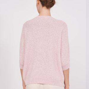 Peserico Pullover rosa hinten