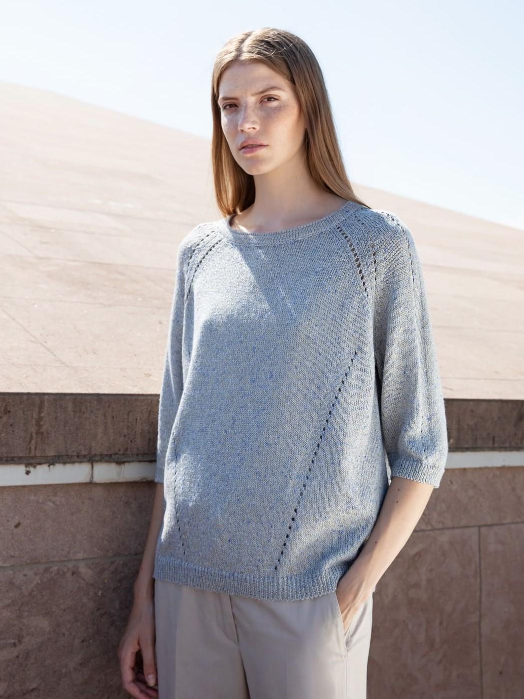 TONET Pullover blau