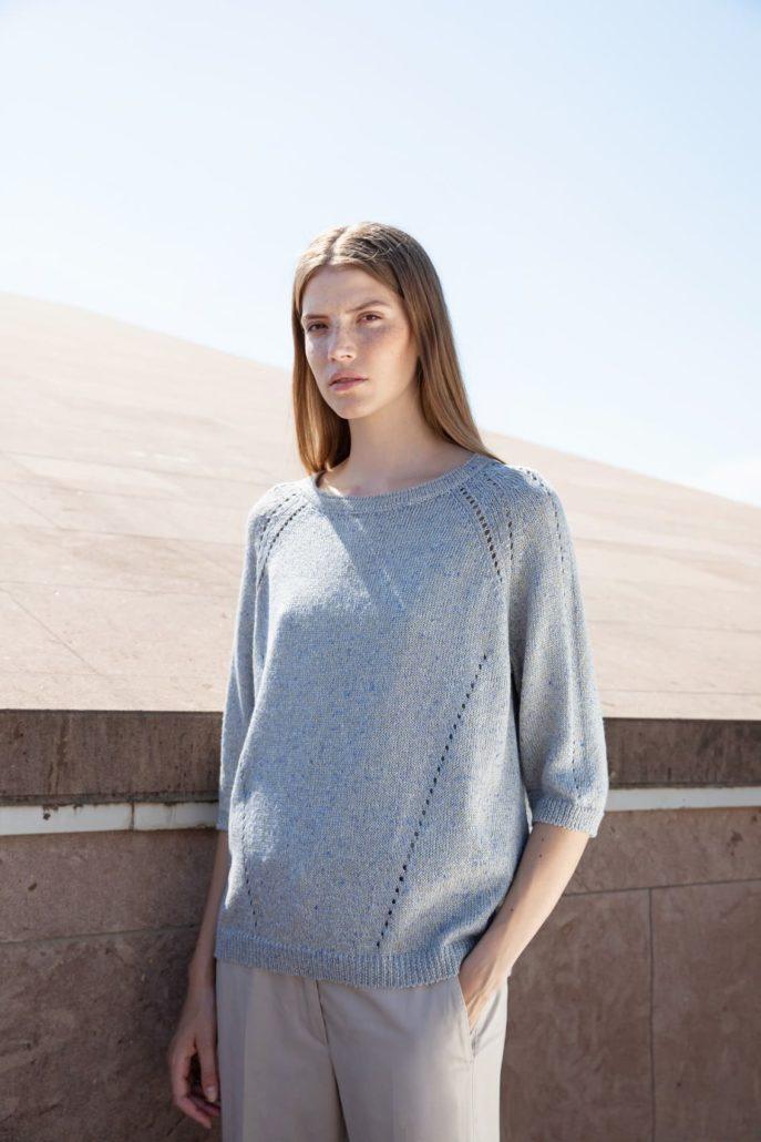 Tonet Blauer Pullover